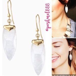 :: S&D Aria Quartz Crystal Drop Earrings